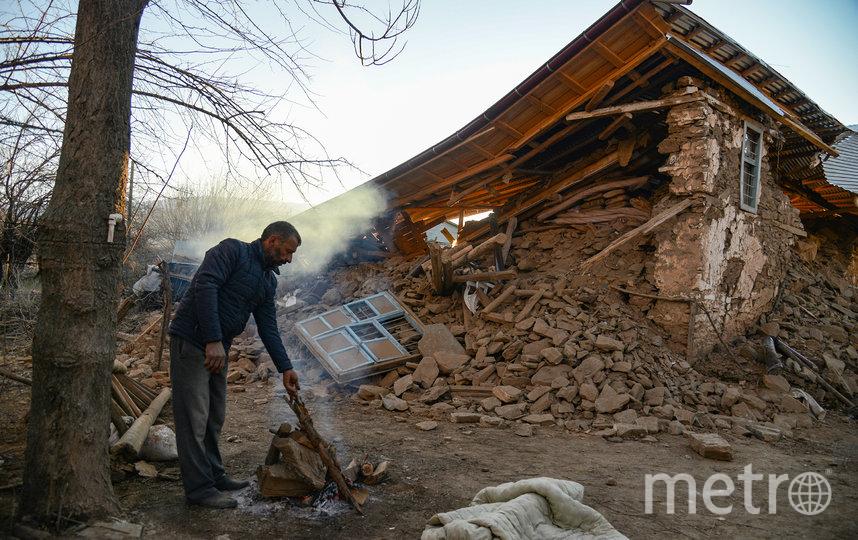 Землетрясение произошло 24 января, однако за ним произошла серия афтершоков. Фото AFP