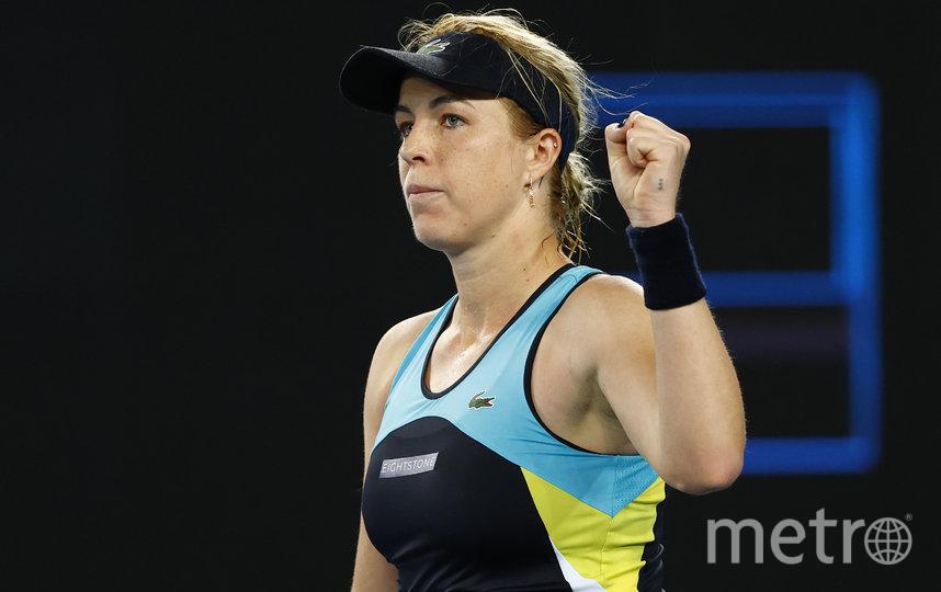 Павлюченкова на корте Australian Open. Фото Getty