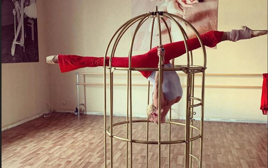 Волочкова часто делится фото с тренировок. Фото instagram.com/volochkova_art