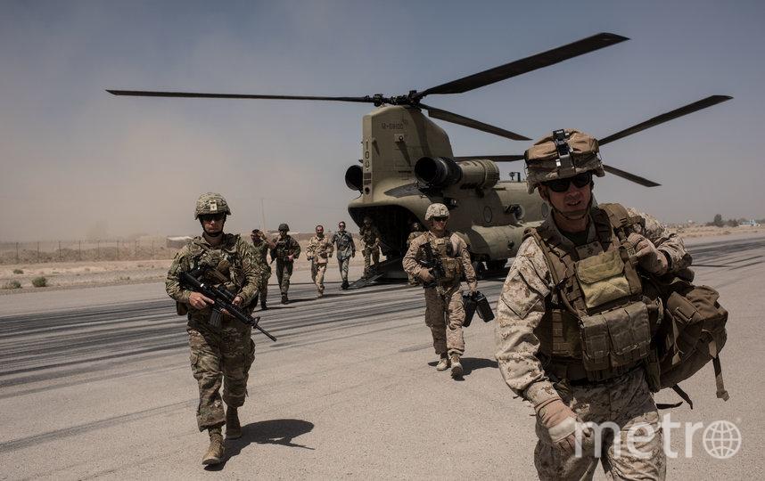 К расследованию крушения воздушного судна присоединились американские военные. Архивное фото. Фото Getty
