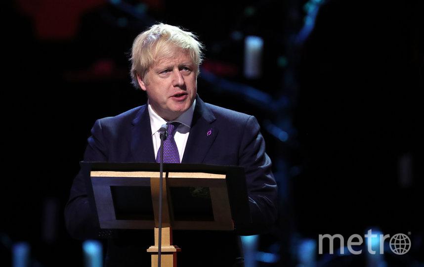 Борис Джонсон 27 января в Лондоне. Фото Getty