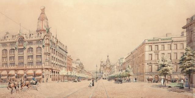 Екатерининский бульвар.