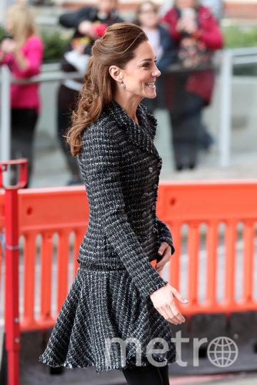 Кейт Миддлтон 28 января возле лондонской детской больницы. Фото Getty