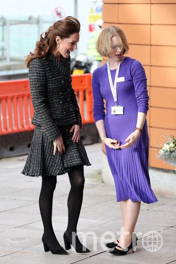 Кэтрин посетила детскую больницу в Лондоне. Фото Getty
