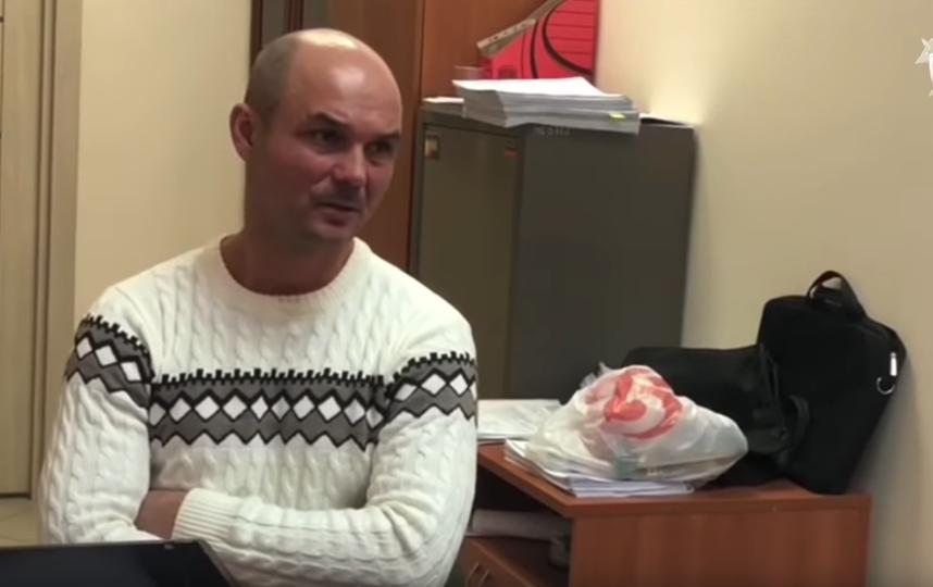Мужчина сам явился на допрос. Фото скриншот видео СК РФ