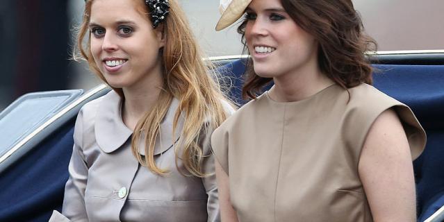 Принцессы Беатриса и Евгения.