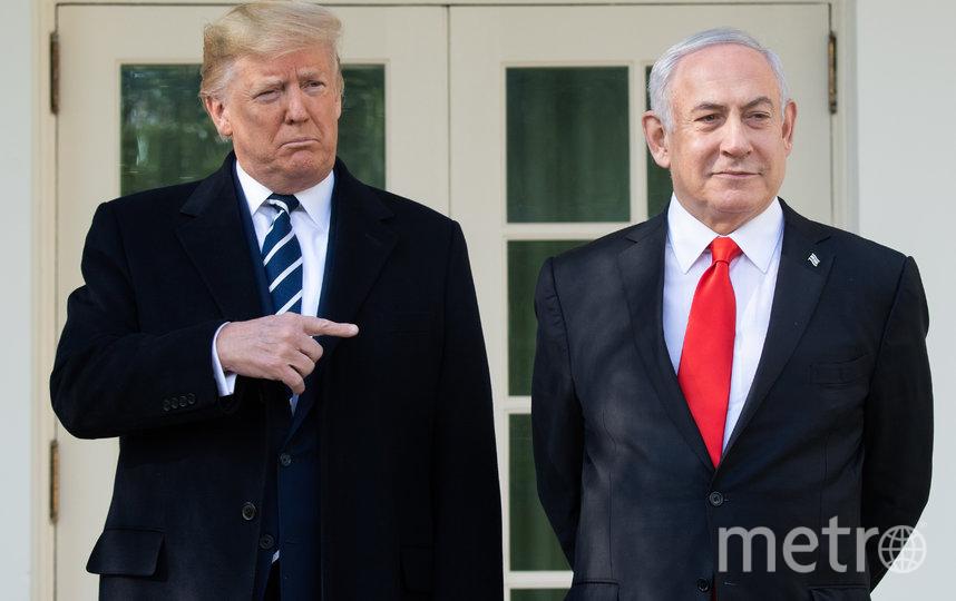 Дональд Трамп (слева) и Биньямин Нетаньяху (справа). Фото AFP
