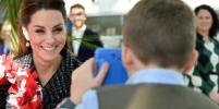 Появилось фото с Кейт Миддлтон, которое сделал 10-летний мальчик в больнице