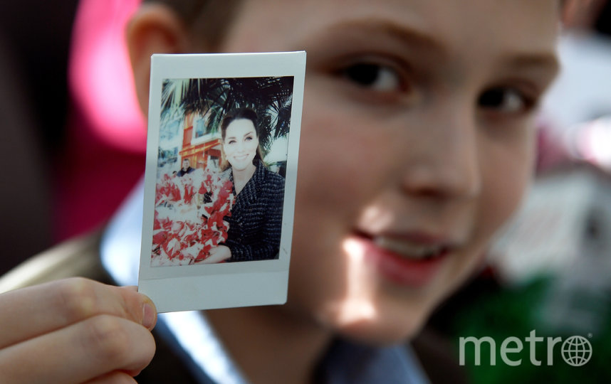 10-летний Люк Уилер-Уоддисон сделал фото Кэтрин. Фото Getty