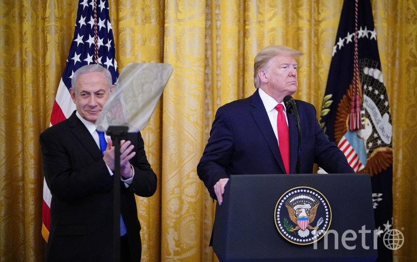 Биньямин Нетаньяху (слева) и Дональд Трамп (справа). Фото AFP