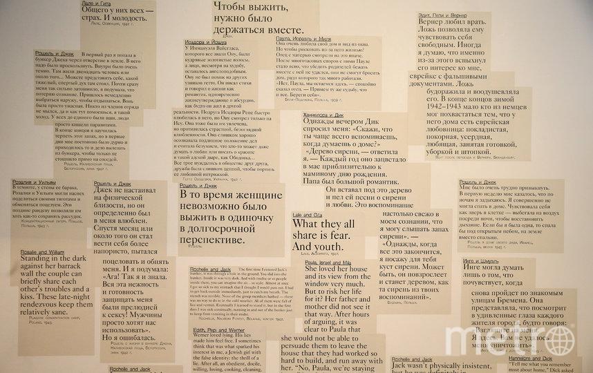 """В Еврейском музее и центре толерантности открылась выставка """"(Не) время для любви"""". Фото Василий Кузьмичёнок"""