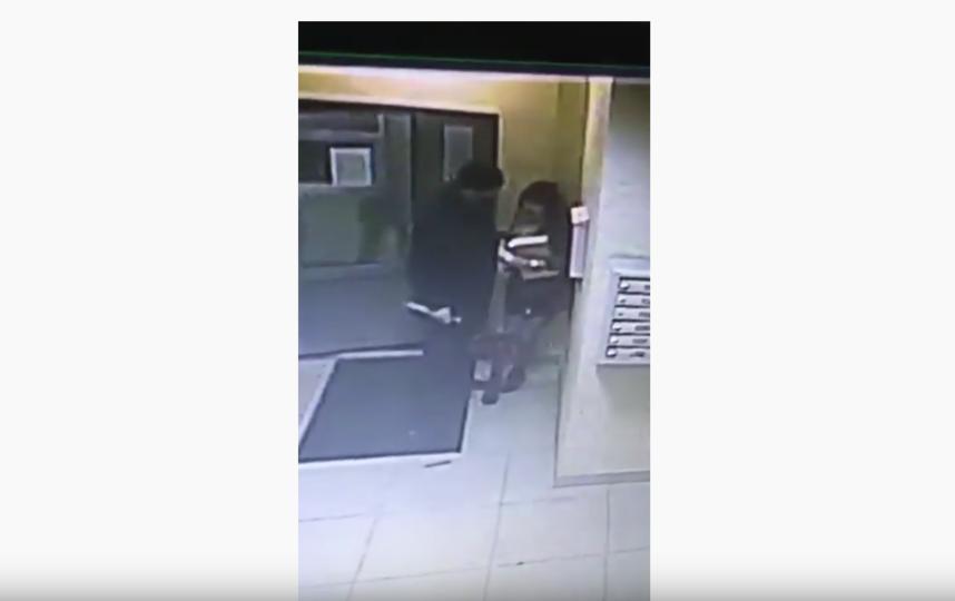 Убийство попало на камеры видеонаблюдения. Фото скриншот: youtube.com/watch?v=B3pGdrvQnno