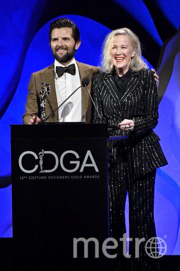 Адам Скотт и Кэтрин О'Хара. Фото Getty
