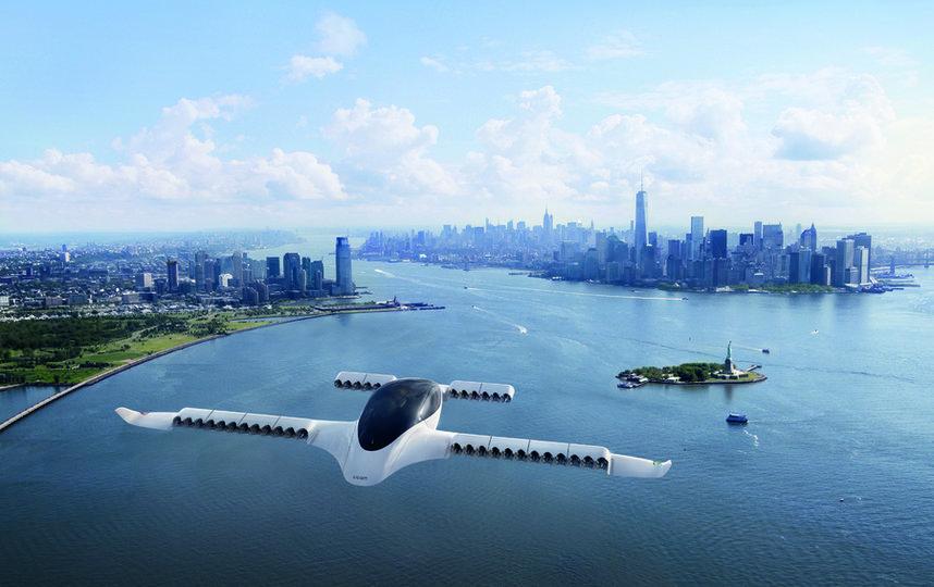 Летающие такси вскоре станут реальностью. Фото istock