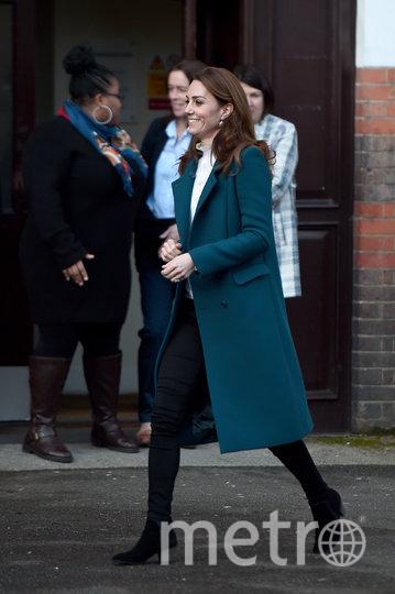 Кэтрин посетила детсад на юге Лондона. Фото Getty