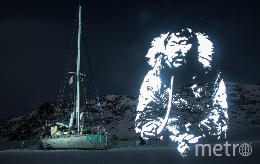 """2 недели провёл Фабрис Виттнер на лодке, """"застрявшей во льду"""". Фото FABRICE WITTNER"""
