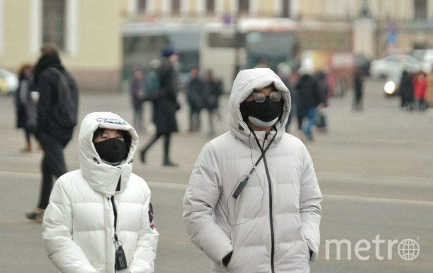 """Китайские туристы скоро покинут город. Но вернутся, когда эпидемия коронавируса пройдет. Фото Алена Бобрович, """"Metro"""""""