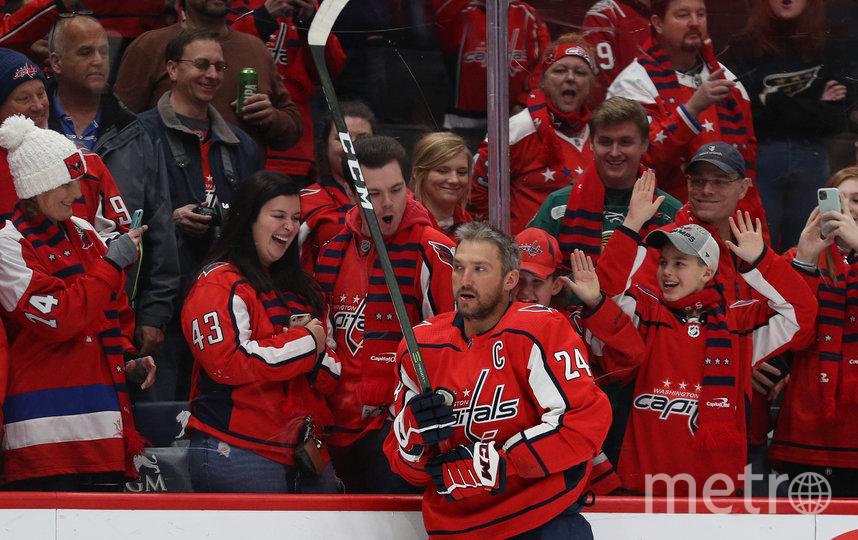 Овечкин обошёл Айзермана в рейтинге лучших бомбардиров НХЛ всех времён. Фото Getty
