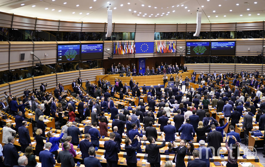 Голосование по документу состоялось 29 января на пленарной сессии ЕП в Брюсселе. Фото AFP