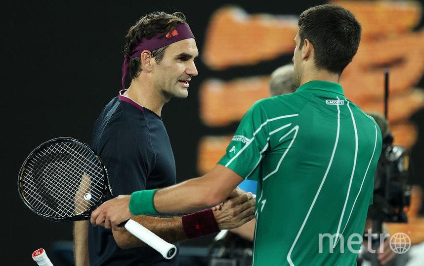 Джокович обыграл Федерера и вышел в финал Australian Open. Фото Getty