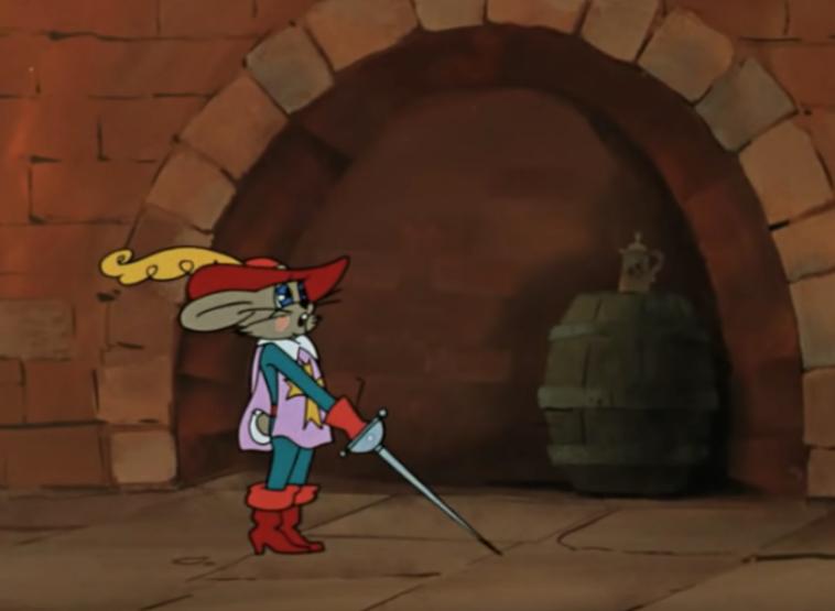 """Заяц способен удивить количеством талантов. Фото кадр из мультсериала """"Ну, погоди!"""", """"Союзмультфильм"""""""