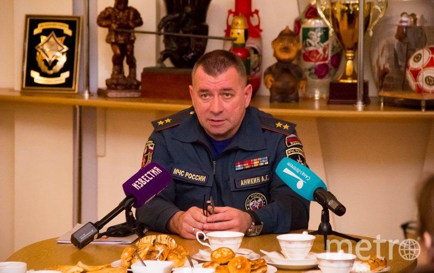 Алексей Аникин. Фото Предоставлено пресс-службой МЧС Санкт-Петербурга