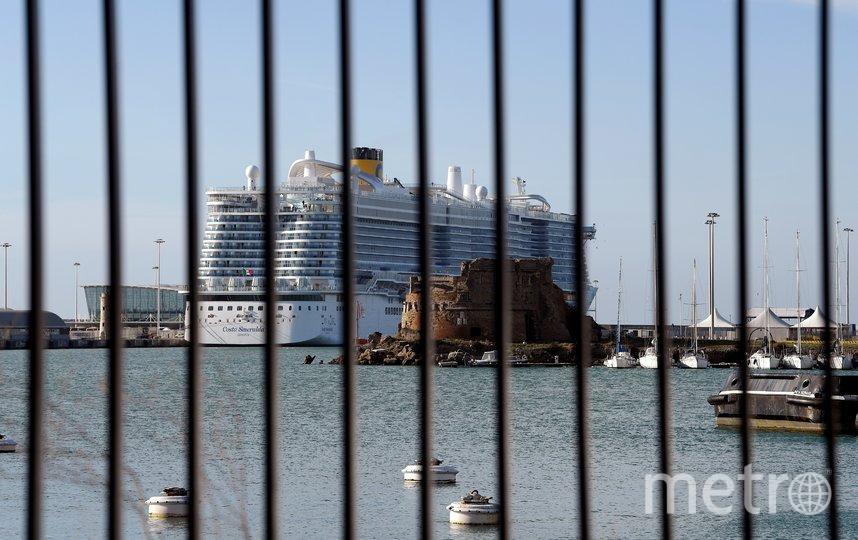 67 россиян находятся на борту заблокированного в Италии лайнера. Фото AFP