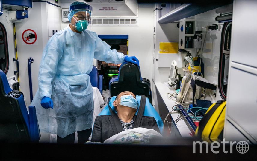 В Китае число заболевших пневмонией достигло 9692 человек. Фото Getty