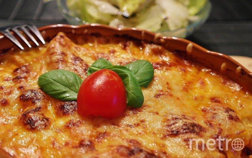 Лазанья – одно из самых популярных блюд итальянской кухни. Фото Depositphotos
