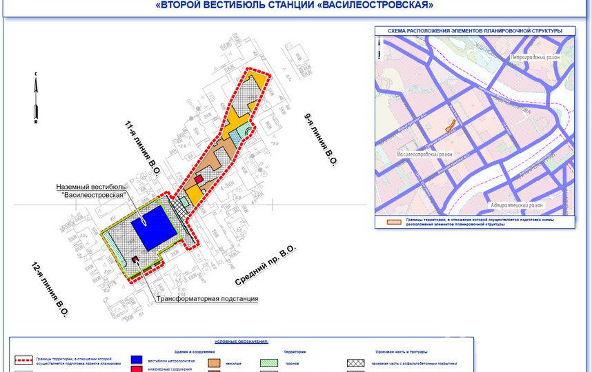 """Схема. Фото www.gov.spb.ru, """"Metro"""""""