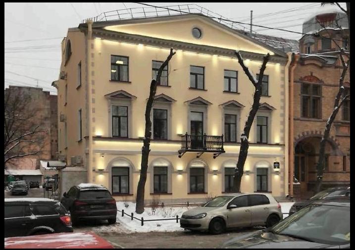 """Дом Гилмора на Васильевском острове. Фото kgiop.ru, """"Metro"""""""