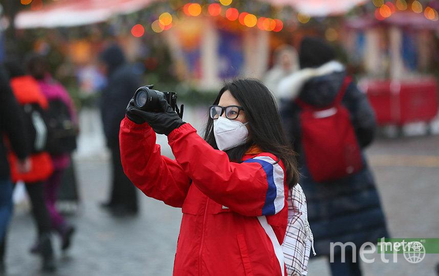Туристы в Москве. Фото Василий Кузьмичёнок