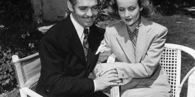 Кларк Гейбл и Кэрол Ломбард, третья жена актера.