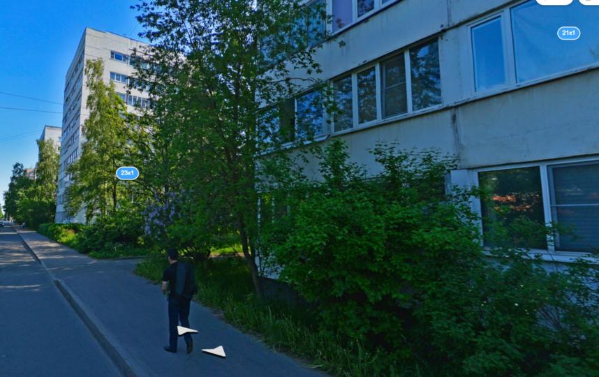 Улица Козлова, 21. Фото Яндекс.Панорамы
