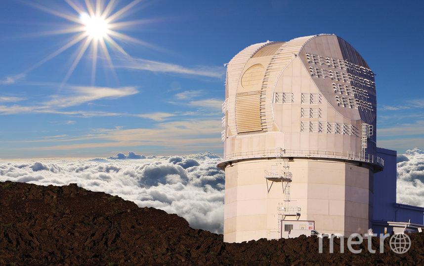 Телескоп DKIST располагается в обсерватории Халеакала на гавайском острове Мауи. Фото NSO/AURA/NSF
