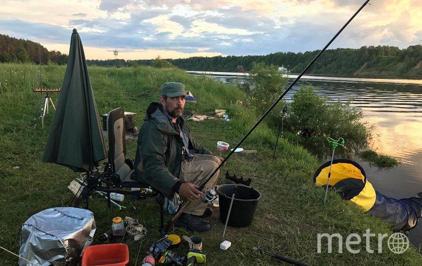 Полудо помимо кулинарии увлекается рыбалкой. Фото Вячеслав Манихин