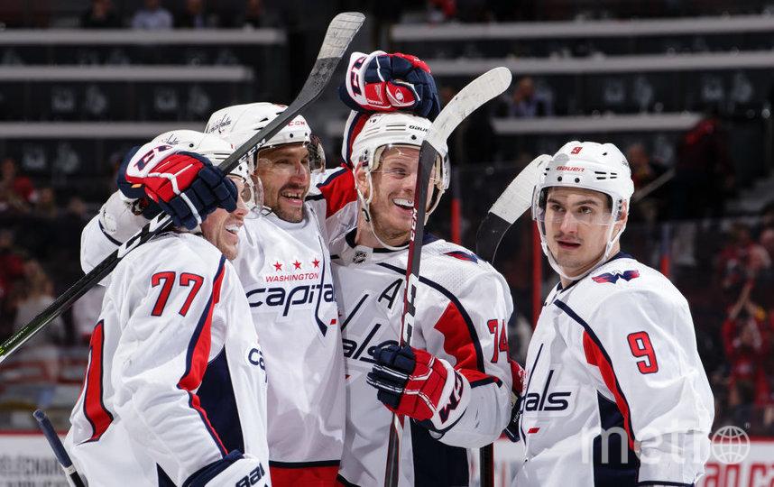 Овечкин вышел на 8 место в списке лучших бомбардиров НХЛ всех времён. Фото Getty