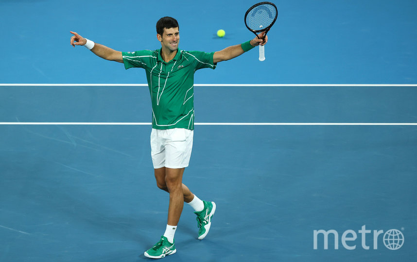 Джокович в восьмой раз выиграл Australian Open. Фото Getty