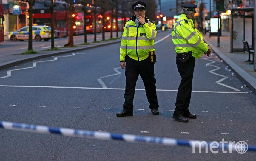 На юге Лондона произошло нападение с ножом. Фото AFP