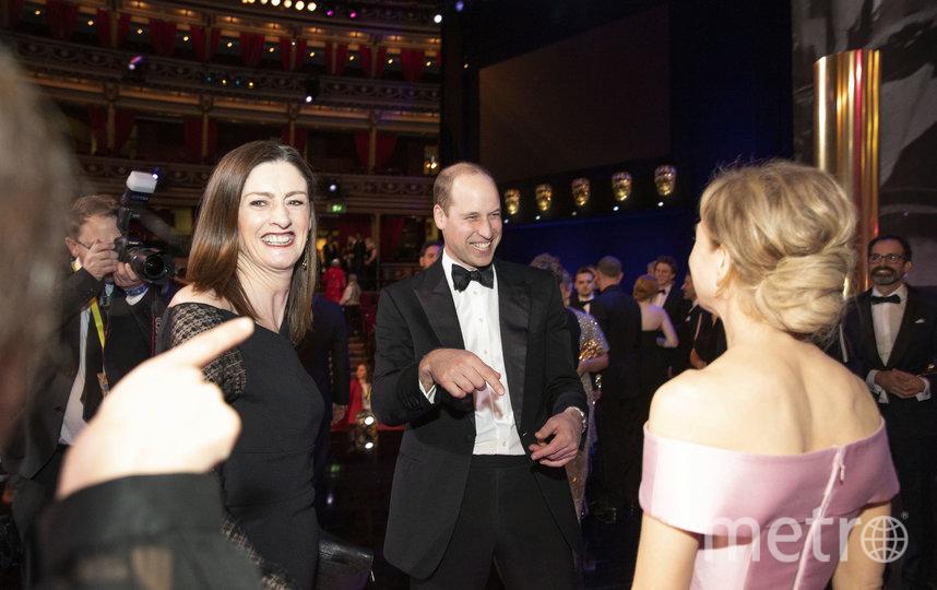 Принц Уильям и Рене Зеллвегер. Фото Getty