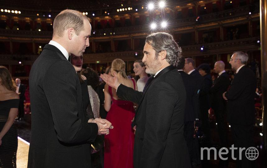 Принц Уильям и Хоакин Феникс. Фото Getty