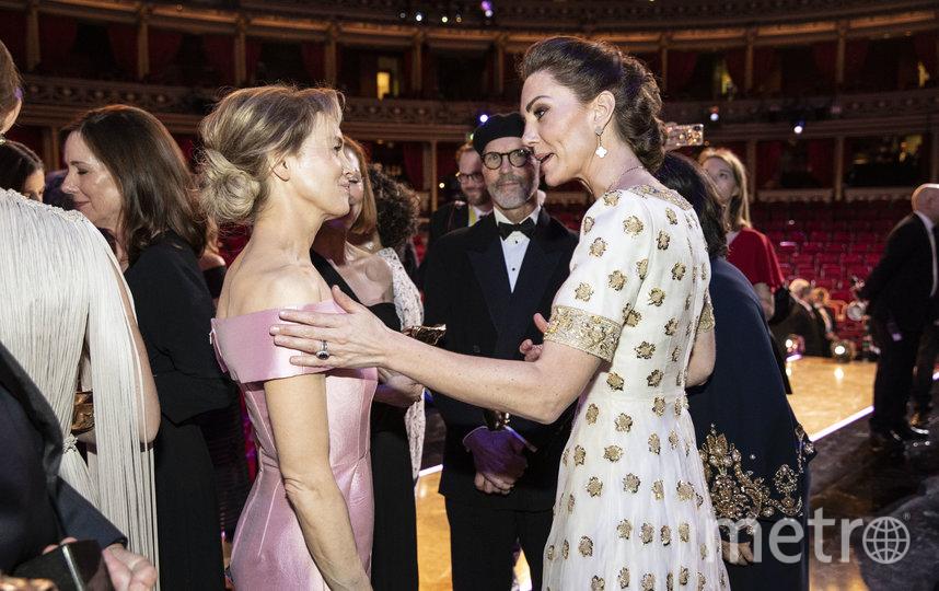 Кейт Миддлтон и Рене Зеллвегер. Фото Getty