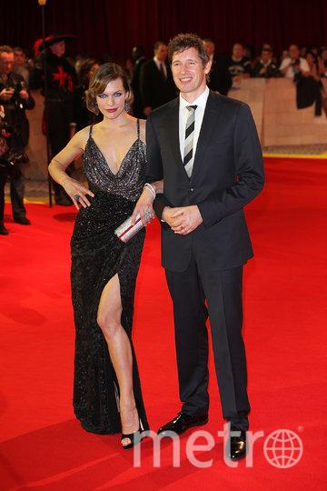 Милла Йовович с мужем Полом Андерсоном. Фото Getty