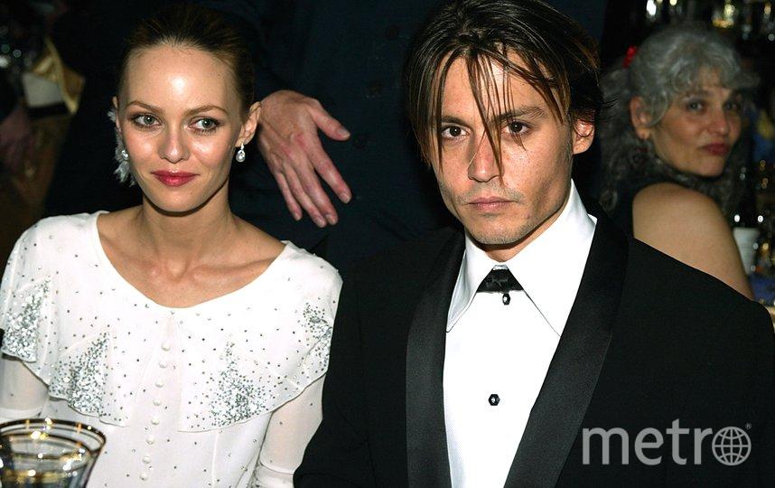 Джонни Депп и Ванесса Паради. Фото Getty