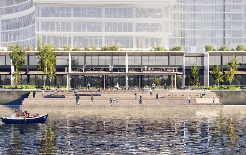 """Проект. Фото IND architects, предоставлено пресс-службой Москомархитектуры, """"Metro"""""""
