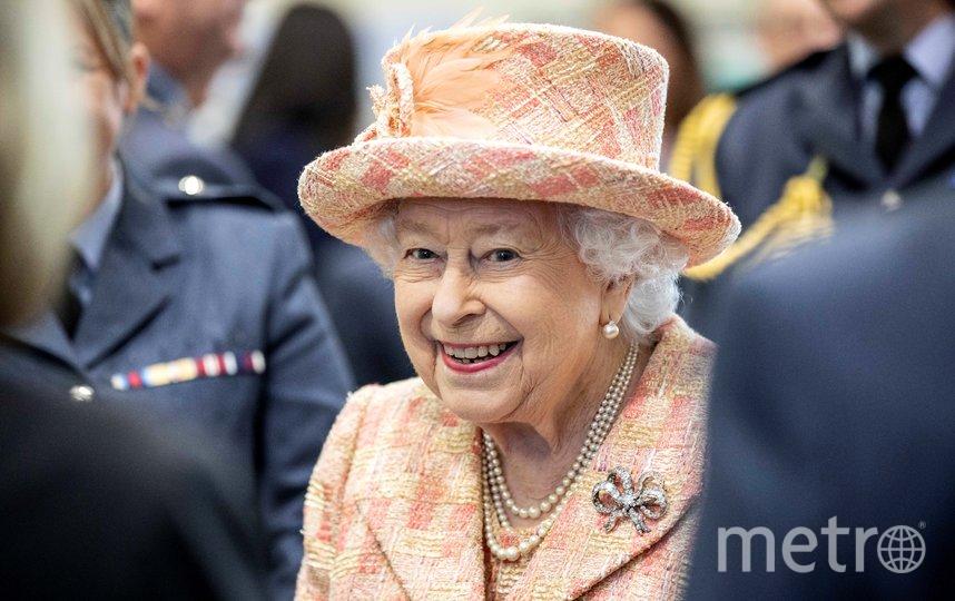 Королева Елизавета II посетила базу Мархэм в Норфолке. Фото AFP