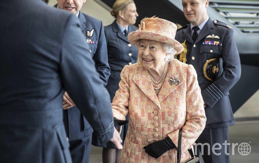 Королева Елизавета II посетила базу Мархэм в Норфолке. Фото Getty