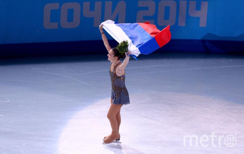 Аделина Сотникова на Олимпиаде в Сочи. Фото Getty