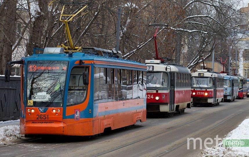 Новую трамвайную линию построят в Москве. Фото Василий Кузьмичёнок