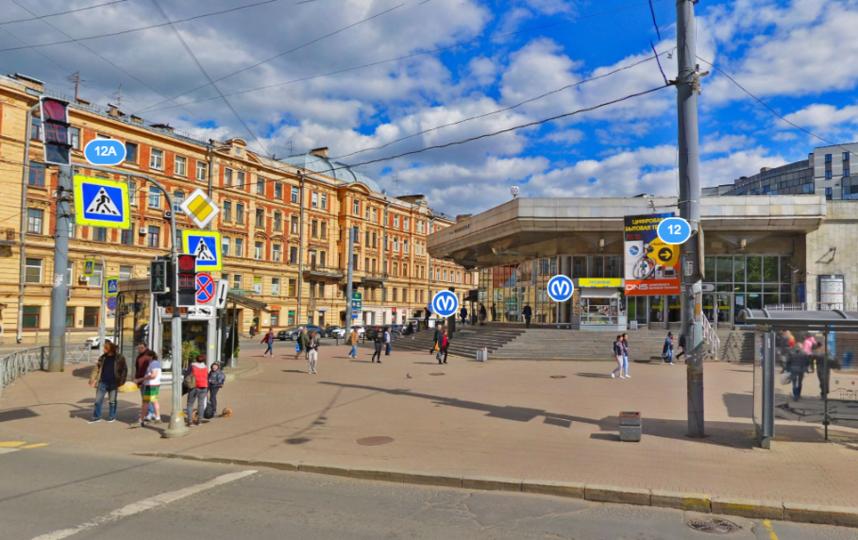 "Станция ""Чкаловская"". Фото Яндекс.Панорамы"